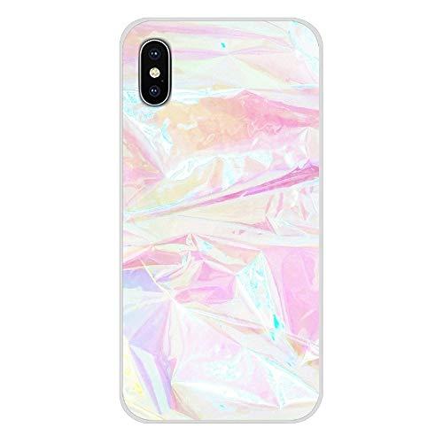 HUAI For Samsung Galaxy S2 S3 S4 S5 S6 S7 S8 S9 S10E Lite Plus Accesorios de Shell del teléfono Cubiertas de Piedra del ópalo iridiscentes (Color : Images 10, Material : For Galaxy S4 Mini)