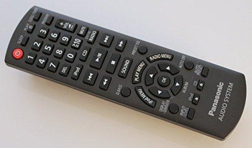 Panasonic N2QAYB000641 Fernbedienung für SC-HC35 DVD-System