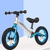 ZTBXQ Kleinkind Top Erstes Geburtstagsgeschenk Kinder-Laufräder WalkerRidekids Laufrad2 JahreLuftreifenKein PedalKinderfahrradfür 2-6 Jahre alte JungenMädchen Kleinkind Laufrad hergestellt