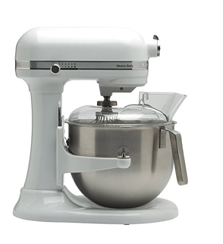 Kitchenaid 5KSM7591XEWH Küchenmaschine 1.3 HP Heavy Duty 6,9L, Weiß