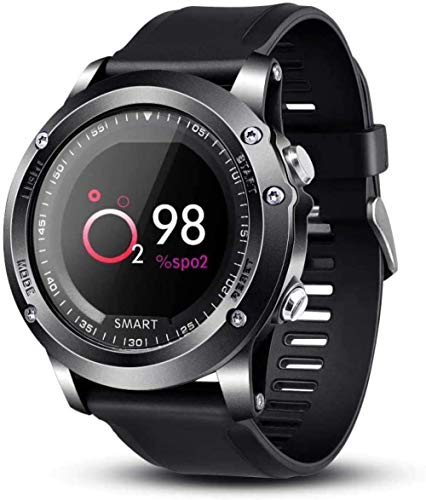 Reloj inteligente deportivo IP68 impermeable monitor de ritmo cardíaco fitness Tracker pulsera monitor de sueño contador de pasos Smartwatch para mujeres y hombres