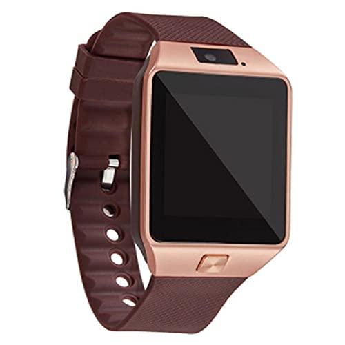 Picapoo Reloj Inteligente con Pantalla táctil dz09 con cámara Reloj de Pulsera Bluetooth Reloj Inteligente con Tarjeta SIM Relogio para teléfono i Reloj Inteligente con Pantalla táctil Sam Sung
