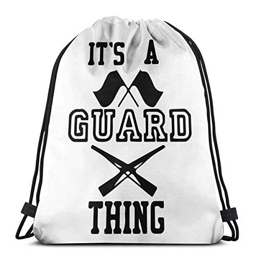 Its A Guard Thing Cool - Mochila con cordón