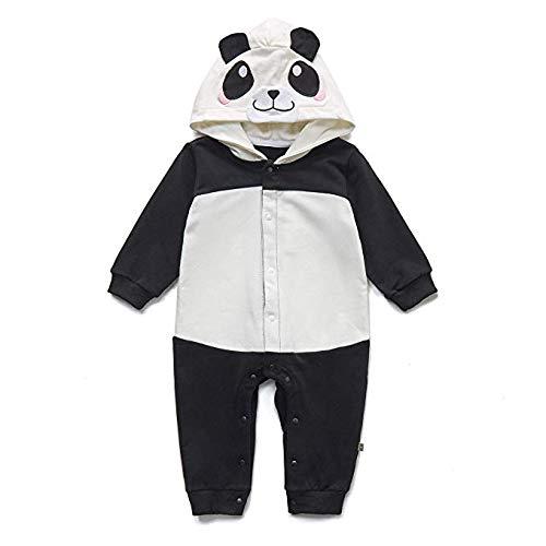 Winthome - Tutina Pigiama per Neonati, per Bambini e Bambine Panda 73 cm