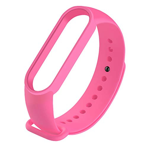 Smart Band Kompatibel für Xiaomi Mi Band 5 Armbänder Smart Watch Armband Ersatzband Silikon Smart Wasserdichtes Sportarmband