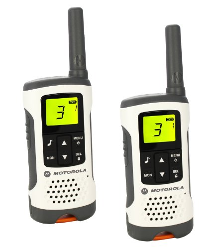 Motorola T50 Walkie Talkie 8channels two-way radio - Two-Way Radios (8 channels, 6000 m, AAA, Nickel-Metal Hydride (NiMH), 103 g, 55 x 165 x 30 mm)