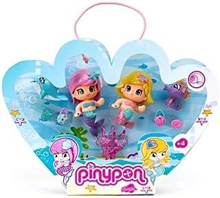 Pinypon Pack de 2 Figuras de Sirenas, para niños a partir