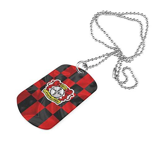 Y Y Y Ba-Yer Leve-Rkusen Armee Marke Halskette Druck Halskette Eisen Halskette Trend Mode