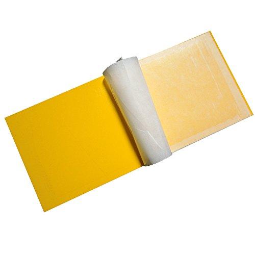 LLZMWD Sticky/Anti Moustique Lampe/Ied/Flypaper/Conseil/Conseil/Mouche Insecte Mouches Bâton/Flypaper/10 Installé, 39 X 15Cm