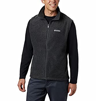 Columbia Men s Steens Mountain Vest Charcoal Heather Large