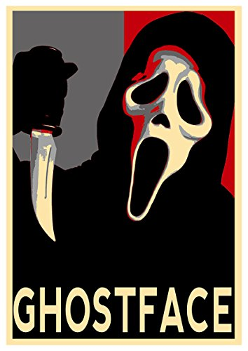 Instabuy Posters Scream Propaganda Horror Ghostface - A3 (42x30 cm)