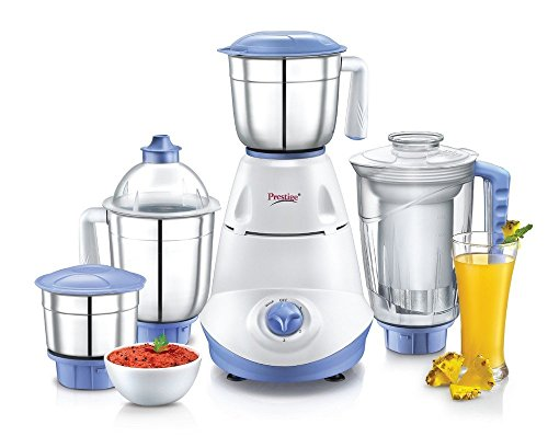 Prestige Iris(750 Watt) Mixer Grinder with 3 Stainless Steel Jar + 1...