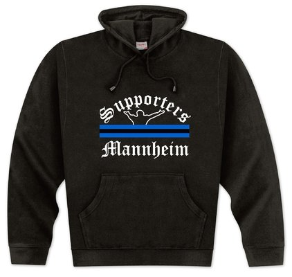 World of Football Kapuzenpulli Supporters-Mannheim - XXL