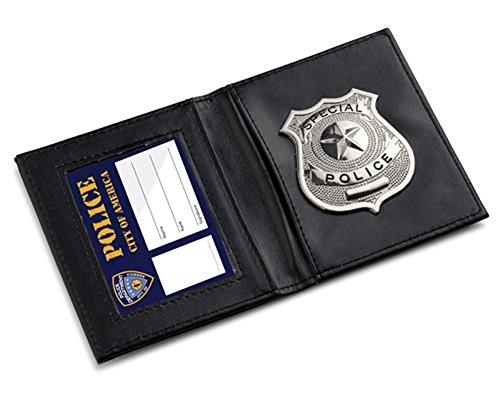Dress Up America Les enfants prétendent jouer le portefeuille d'identification de police,Taille unique,Multicolore
