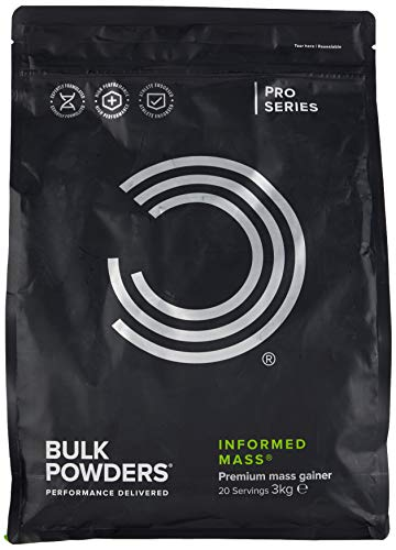 BULK POWDERS Informed Mass, Mass Gainer, Whey Protein Shake, Rocky Road, 3 kg