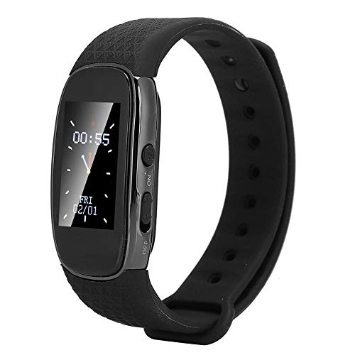 YOUTHINK Voice Recorder Watch Digitales Diktiergerät Armband Voice Activated Recorder Tragbare Rauschunterdrückung HD Audio MP3 Music Player