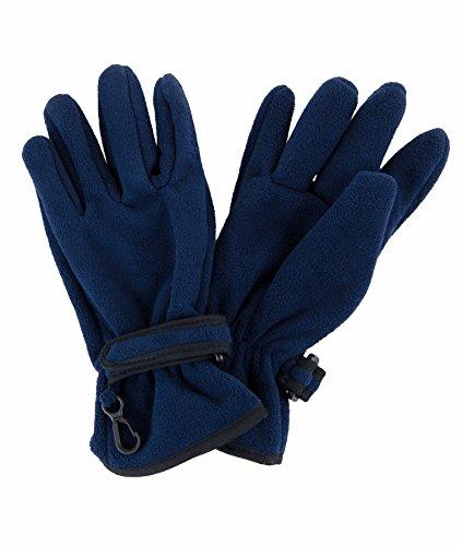 Döll Jungen Fingerhandschuhe Fleece Handschuhe, Blau (Navy Blazer|Blue 3105), 6