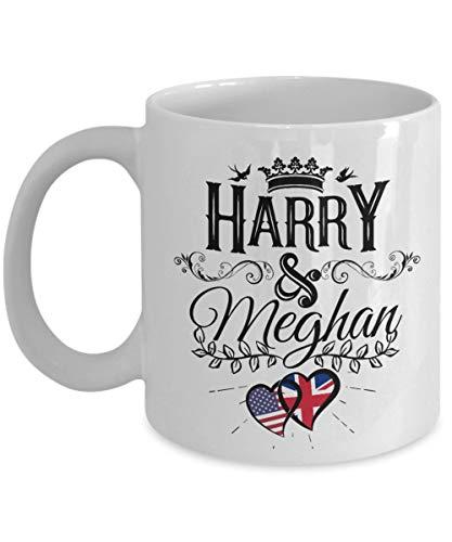 Taza de Harry y Meghan Taza conmemorativa de la boda real El...