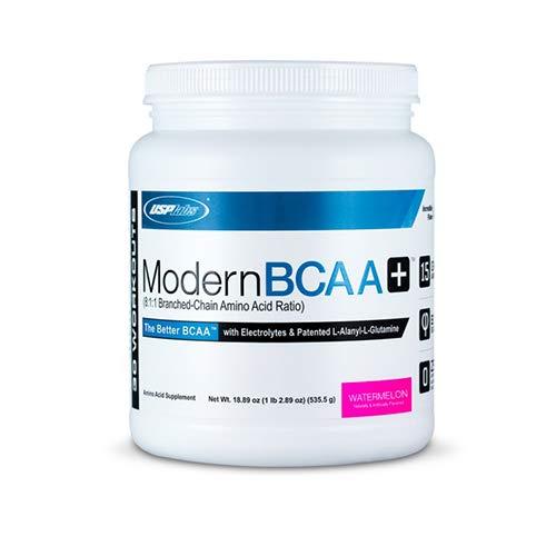 USP Labs Modern BCAA Plus 30 Servings Sports Supplement, 535.5 g, Peach Tea