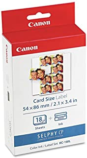 CNM7740A001 - Canon KC-18IL Color Ink Paper Set