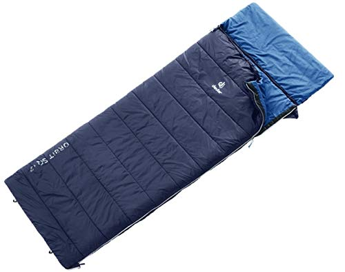 Deuter Orbit SQ +5° Schlafsack, Navy-Steel, 195 x 80 x 80 cm