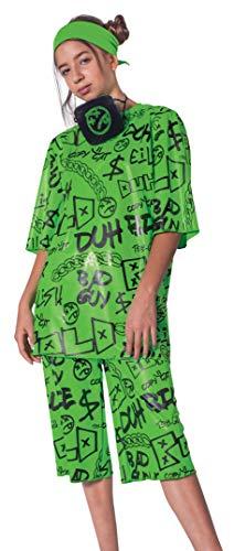 Disguise DISK112579K Billie Eilish kostium karnawałowy, dziewczęcy, M