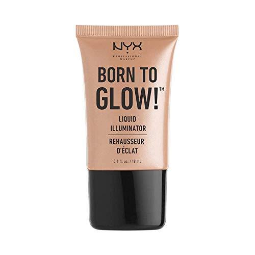 Nyx Professional Makeup - Iluminador Líquido - Born To Glow! - BORN TO GLW LQD ILLU - GLEAM
