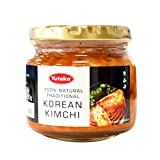 Yutaka 100% Natural Authentic Traditional National Korean Kimchi Pickled Fermented Cabbage in Jar 215 g - ユタカ100%天然本格的な伝統的な韓国のキムチ漬けキャベツの瓶入り215 g