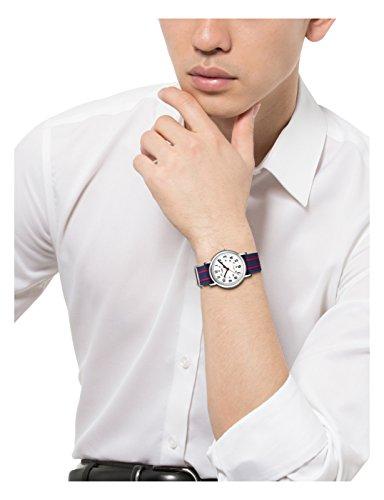 [タイメックス]TIMEXウィークエンダーセントラルパークホワイト×ネイビー/レッドT2N747【正規輸入品】