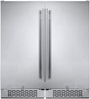 Avallon AFR151SSDUAL 6.7 Cu Ft Built in Side-by-Side Fridge