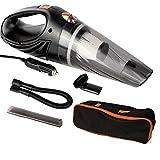 Aspirateur À Main 4800Pa Aspirateur Puissant D'Aspiration De Poche 12V 120W pour La Voiture Wet & Dry À Double Usage De...