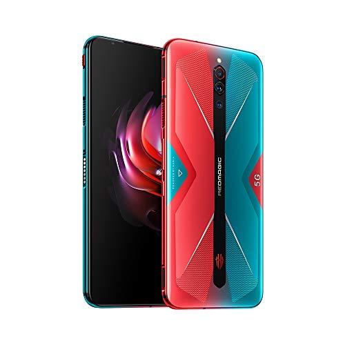 Nubia RedMagic 5G Gaming Phone 12GB RAM + 256GB ROM/Smartphones with Qualcomm Snapdragon 865/144Hz: Refresh Rate 6.65″ AMOLED Display/64MP Triple Camera NFC