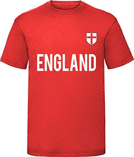 FIFA Football Adulti Ragazzi Ragazza T-shirt Junior Bambini Kids Polo England S