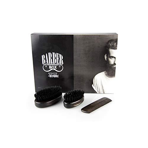 Gentlemen's Barber Club-3 - Cepillo para barba y bigote