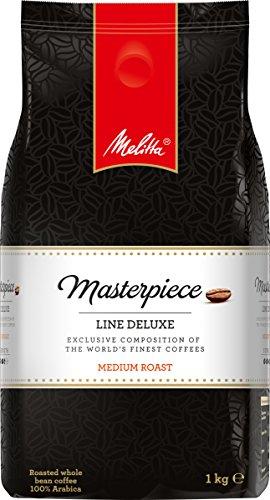 Melitta Ganze Kaffeebohnen , Exklusiv nur bei Amazon, Raritäten-Kaffee, 100 % Arabica, vollmundig und ausgewogen, mittlerer Röstgrad, Masterpiece Line Deluxe, 1000g