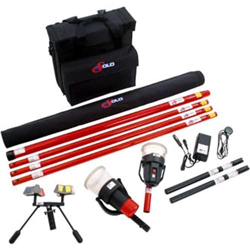 SDI Solo 823 Kit Smoke Detector Test Kit w Bag, Heat Tester, Battery Charger