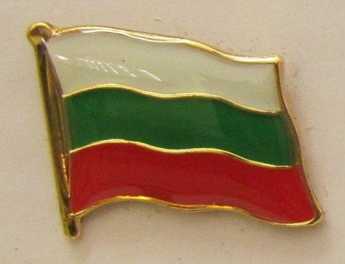 Pin Anstecker Flagge Fahne Bulgarien Nationalflagge Flaggenpin Badge Button Flaggen Clip Anstecknadel