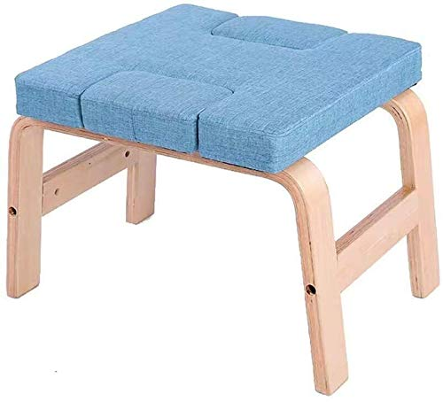 Read About ZHWGS Yoga Chair Headstand Bench Yoga Inverted Chair Inverted Stool, Bench Yoga Exercise ...