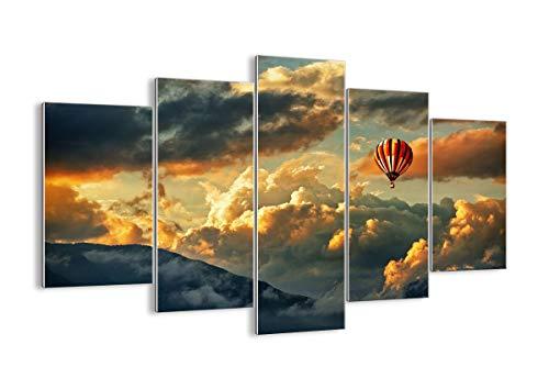 Cuadro sobre Vidrio - Cuadro de Cristal - 5 Piezas - 150x100cm - Foto número 3791 - Listo para Colgar - Pinturas en Vidrio - Impresiones sobre Vidrio - Cuadro en Vidrio - GEA150x100-3791