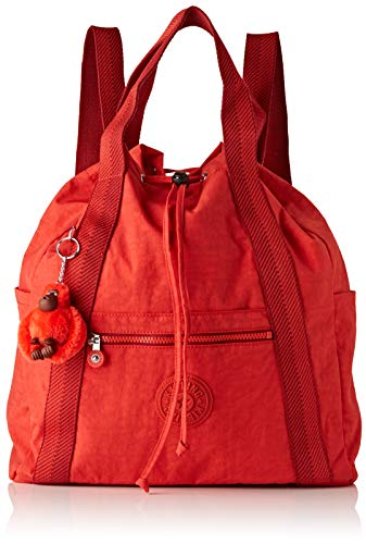 Kipling Art Backpack M, Women's Backpack, Red (Active Red)