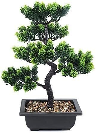 HAODA Artificial Challenge the Superlatite lowest price of Japan ☆ Plant Plants Bonsai Tree Welcoming