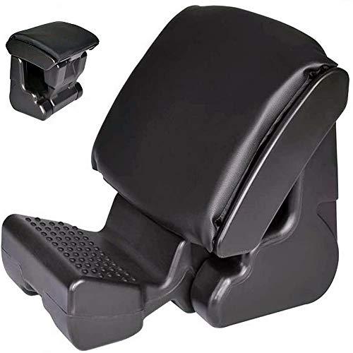 VUE Adjustable Footrest, Upgrade Ergonomic Footrest Max-Load 180LBS with 3 Functional Modes & Massage Office Foot Rest Under Desk for Home, Office, Car, Train