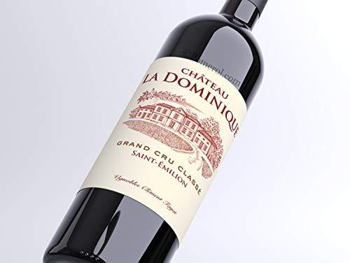 X6 Château La Dominique 2016 75 cl AOC Saint-Émilion Grand Cru Classé Vino Tinto