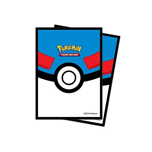 Ultra Pro E-85450 Deck Protectors-Pokemon Ball 65 Pack