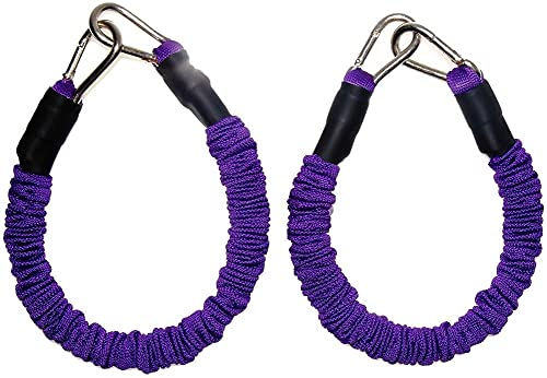 WXFCAS Forza di addestratore di Rimbalzo Forza per Allenamento Forza per Le Gambe Verticale Salto Allenatore Squat Macchina Attrezzatura a Combinazione della libertà (Color : Purple50 pounds)