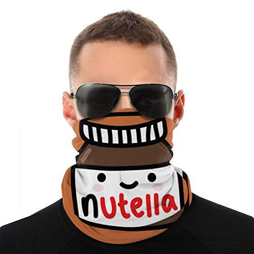 Funny Caps Tumblr Nutella Versátil Multifunción Headwear Cuello Polaco Pasamontañas Casco Liner Riding Face Cover Para Niños Mujeres Hombres Al aire libre Protección UV