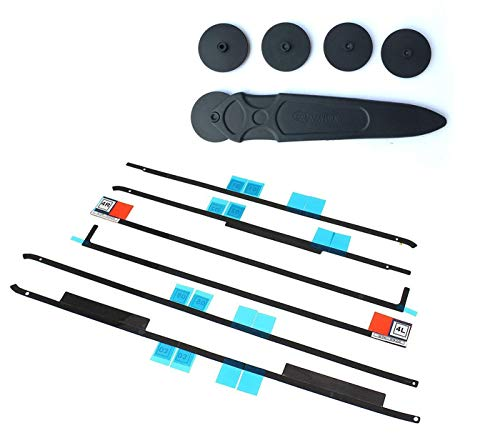 LeFix Replacement LCD Panel Adhesive Tape Strip Sticker + Opening Wheel Tool Kit for iMac 21.5'' 21.5-inch A1418 Year 2012 2013 2014 2015