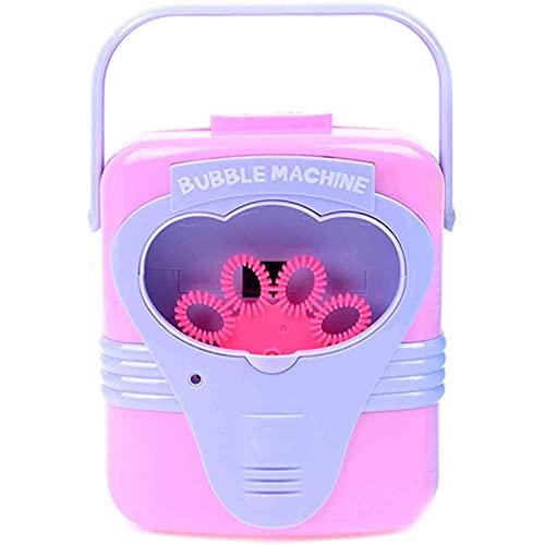 ZKLL Bubble-Maschine, Automatisches Blasengebläse, Tragbarer Auto-Bubble Maker Mit Hoher Leistung Für Den Außen- / Innenbereich, Bubble Spielzeug Und Geschenke Für Kinder Mädchen Jungs