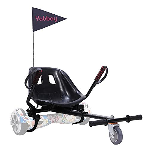 yabbay Overbord Kart, overkart pour hoverbords transforme Votre Hoverbords en Go-Kart, Rend la Conduite Beaucoup Plus Amusante et sûr