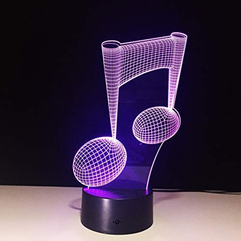 Laofan 3D Lampe Led 3D Nachtlicht Bunte Led Tischlampe Kinder schlafen,Fernbedienung